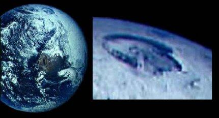 Foto e ingrandimento del Polo Nord