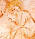 """l'immagine è stata estrapolata dal dipinto inerente una delle tante versioni de """"l'adorazione dei magi"""""""