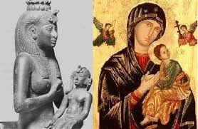 Iside e Maria - Horus e Gesù