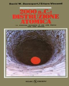 copertina del libro: 2000 a.C. distruzione atomica