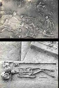 scheletri di Mohenjo-Daro