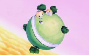 il pianeta di Re Kaioh