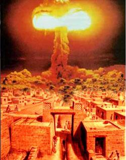 ipotetico scenario della distruzione di Mohenjo-Daro