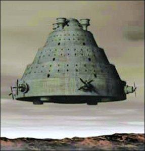 immagine di un Vimana: veicolo celeste degli Dei