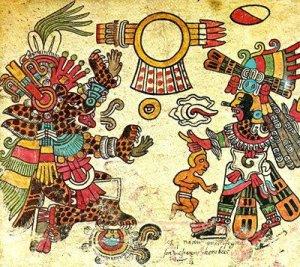 disco alato azteco